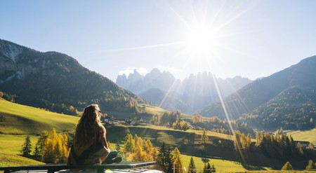 More people are now choosing holidays where they can connect with nature, such as the mountains