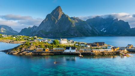 Reine is one of the prettiest villages on the Lofoten Islands in Norway