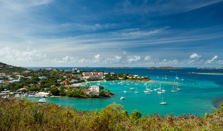 Head to St John for food with a view