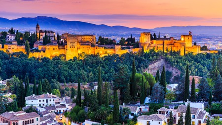 Soak up a view of the Alhambra from one of Granada's top rooftop restaurants