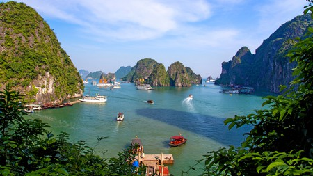 Ha Long Bay is a bucket list item for most travellers visiting Vietnam and we're sure it'll be on yours, too