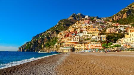 Positano is a visually stunning town on the Amalfi Coast