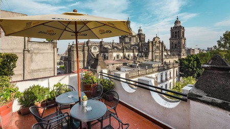 Head to the rooftops during your time in Mexico City for some spectacular views