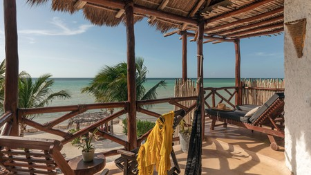 Kick back and relax with a stress-free stay on Isla Holbox