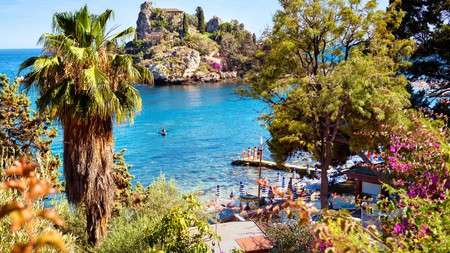 Isola Bella is a must-visit spot for beach bums in Sicily