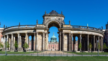 Potsdam is brimming with immense Unesco World Heritage sites, including gems like the Neues Palais (New Palace) in Park Sanssouci