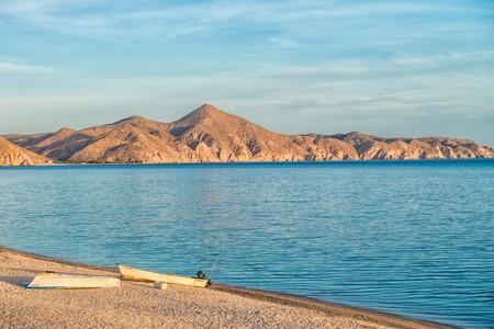 The coastline of Baja California around Ensenada is simply stunning at sunset
