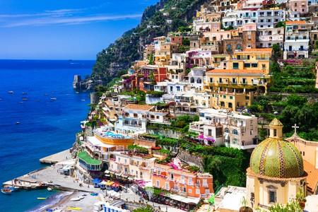 Soak up panoramic views of stunning Italian architecture in the coastal village of Positano