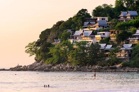 Go for a sunset swim by Kamala Beach in Phuket, Thailand