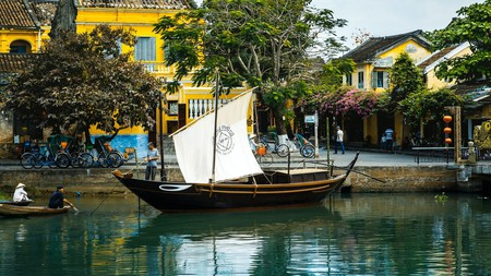 You might want to take a basket boat cruise along the Thu Bon river to soak up the magic of this vibrant Vietnamese city