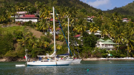 Enjoy sipping on a rum cocktail at Coconutz while soaking up the St Lucian vibe
