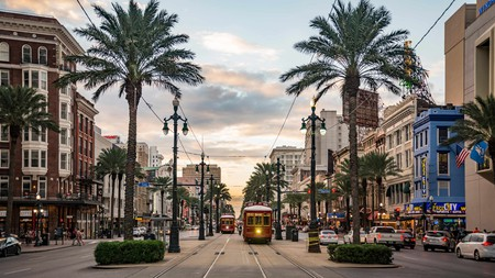 Get a flavor of the city with a stroll down Canal Street