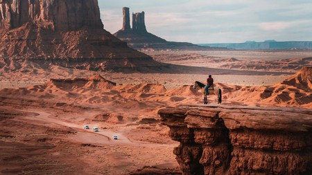 Taking in the view over Monument Valley, Arizona, from the back of a horse is an unforgettable experience
