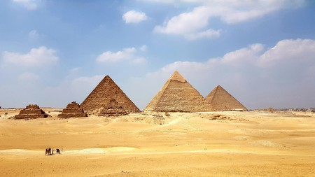 The Pyramids of Giza remain Egypt's most-visited ancient site
