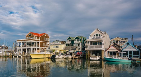 Cape May Harbor sits at the core of life in this quaint fishing town
