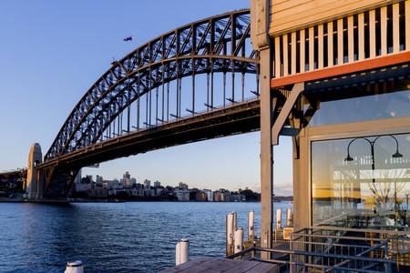 The five-star Pier One Sydney Harbour offers unbelievable views over Sydney Harbour Bridge