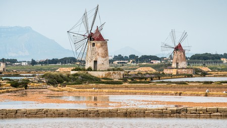 Marsala's windmills are emblematic of this ancient winegrowing region