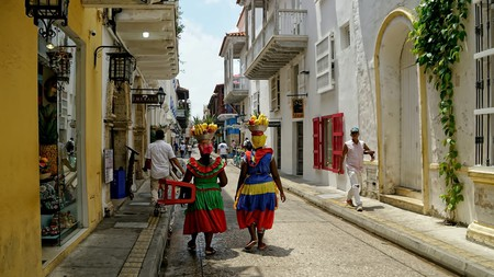 Cartagena's Palenqueras have become a symbol of the city's distinct cultural blend