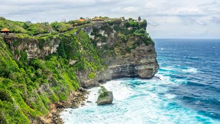 Head to Uluwatu to marvel at the clifftop Uluwatu Temple