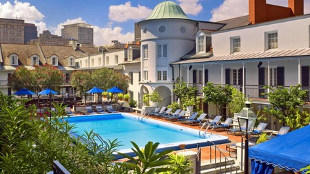 Step inside the Royal Sonesta New Orleans and you'll find five restaurants and a gym as well as an outdoor pool