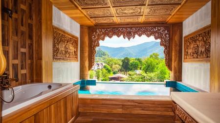 Santhiya Koh Yao Yai Resort is an eco-friendly spot offering traditional luxury