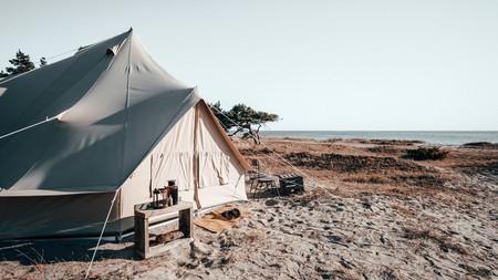 Surflogiet Gotland surf camp sits on a wild stretch of pine-backed beach