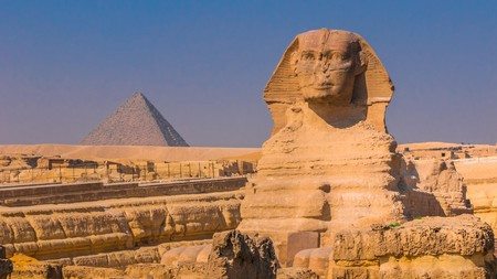 The mysterious Sphinx is a must-visit on your trip to Cairo