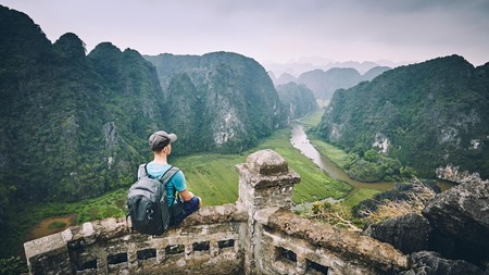 Ninh Binh province offers plenty of dramatic scenery for travellers in Vietnam to explore