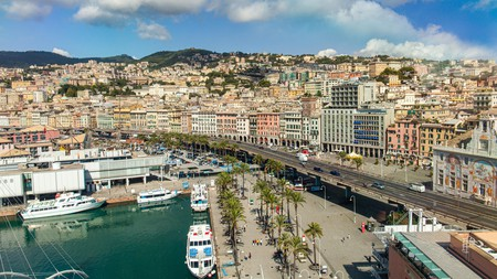 Genoa's Old Port bustles with activity throughout the year