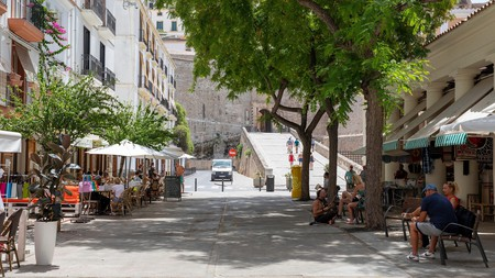 Explore the waterfront and fortified historic old town on a trip to Ibiza