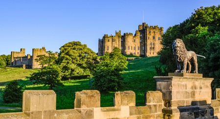 Alnwick Castle is one of the most magnificent places to visit in Northumberland