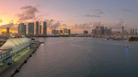 Gazing out from the Port of Miami, you might not want to leave