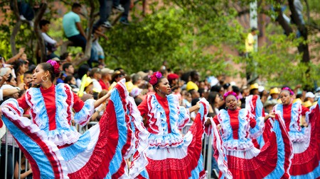 Experience the flower festival along the streets of Medellin on your next visit to Colombia's Western Andes