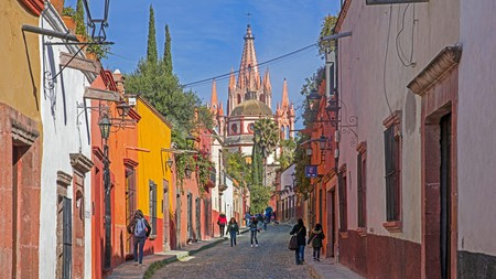 San Miguel de Allende is known throughout Mexico for its unique architectural heritage