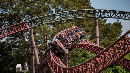 The Rita rollercoaster at Alton Towers is for thrillseekers only