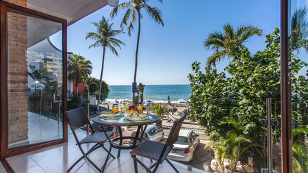 Enjoy a leisurely breakfast in your own digs by staying at these Puerto Vallarta apartments