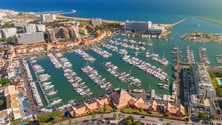Vilamoura in Portugal has an expansive marina
