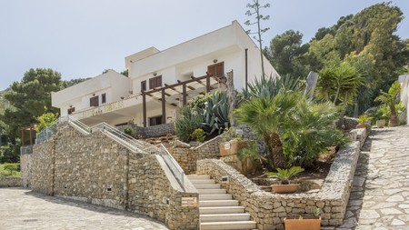 Albergo Auralba hotel in San Vito Lo Capo offers 12 boutique rooms with sea views and verandas for unwinding in the Sicilian sun, a short stroll from the beach and local eateries