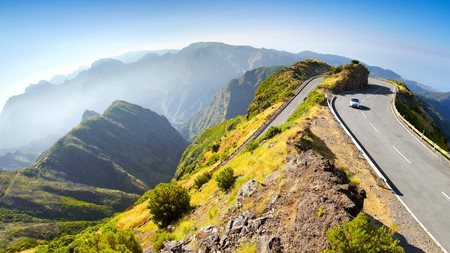 Mountainous Madeira is home to some of Europe's most epic scenic drives