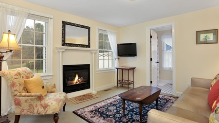 For a charming farmhouse stay on Cape Cod, book a room at the Brewster by the Sea Inn