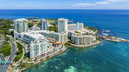 The Caribe Hilton is a sprawling resort offering everything you could want and more