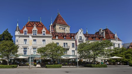 Château d'Ouchy combines historical Lausanne with modern comforts