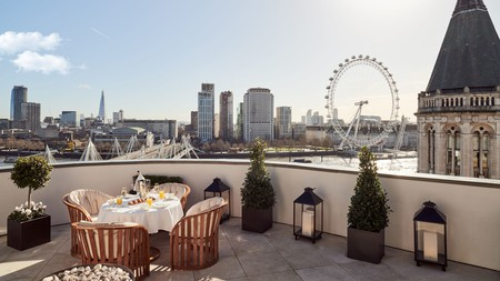 At the Corinthia London, you're right in the centre of the English capital
