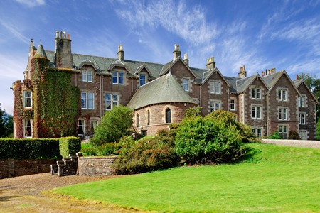 Cromlix Hotel offers a taste of old-world luxury close to the fairways of Gleneagles