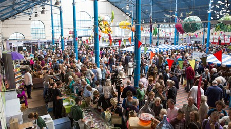 The Abergavenny Food Festival is just one of several events that are back live this autumn