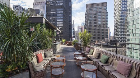 For a stylish and classy stay, book a room at the Dream Midtown in New York City