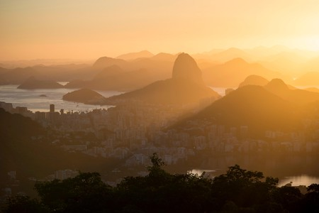 Catch a sunrise from Chinese Vista and soak up the views over Rio de Janerio