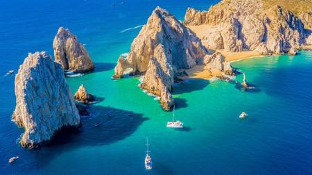 El Arco de Cabo San Lucas is a rock formation on Baja California in Mexico