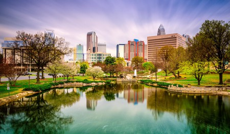 There are plenty of parks in Charlotte, North Carolina