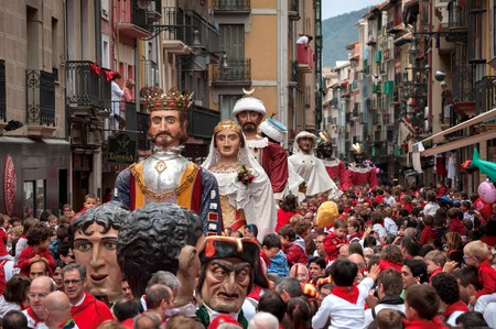 Pamplona's iconic San Fermín festival is a spectacle for both adults and children